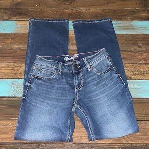 Ladies Wrangler Bootcut Denim Jeans